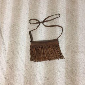 Brandy Melville Crossbody Fringe Bag